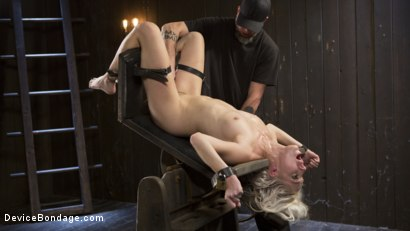 Photo number 3 from The New Bitch shot for Device Bondage on Kink.com. Featuring Cadence Lux and The Pope in hardcore BDSM & Fetish porn.