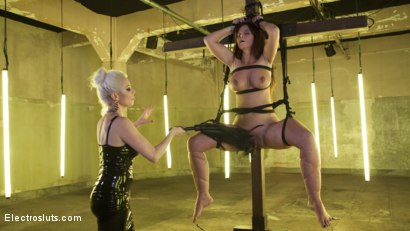 Photo number 11 from Desperate Slut Syren de Mer Begs to be Electro Fucked and Fisted shot for Electro Sluts on Kink.com. Featuring Lorelei Lee and Syren de Mer in hardcore BDSM & Fetish porn.