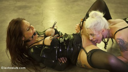 Photo number 10 from Desperate Slut Syren de Mer Begs to be Electro Fucked and Fisted shot for Electro Sluts on Kink.com. Featuring Lorelei Lee and Syren de Mer in hardcore BDSM & Fetish porn.
