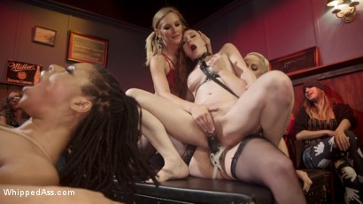 Photo number 16 from Dyke Bar LIVE!!! shot for Whipped Ass on Kink.com. Featuring Mistress Kara, Mona Wales, Bella Rossi, Kira Noir, Violet Monroe, Mimosa and Dylan Ryan in hardcore BDSM & Fetish porn.