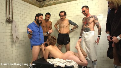 Photo number 22 from Petite journalist gangbanged into a gaping anal slut! shot for Hardcore Gangbang on Kink.com. Featuring Mercy West, Owen Gray, D. Arclyte, Will Havoc, Tommy Pistol and Mickey Mod in hardcore BDSM & Fetish porn.