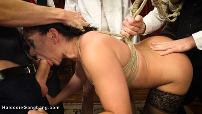 Photo number 15 from Lea Lexis in Bourgeois Filth & The Litanies of Perversion shot for Hardcore Gangbang on Kink.com. Featuring Lea Lexis, Gage Sin, Mark Wood, Owen Gray and Charles Dera in hardcore BDSM & Fetish porn.