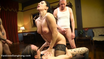 Photo number 25 from Lea Lexis in Bourgeois Filth & The Litanies of Perversion shot for Hardcore Gangbang on Kink.com. Featuring Lea Lexis, Gage Sin, Mark Wood, Owen Gray and Charles Dera in hardcore BDSM & Fetish porn.