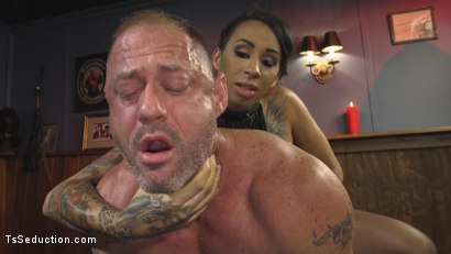 Photo number 16 from First Time Cream Pie  shot for TS Seduction on Kink.com. Featuring Honey FoXXX and D. Arclyte in hardcore BDSM & Fetish porn.