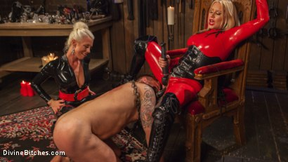 Photo number 10 from Fanboy Pussy Worship Dream Come True shot for Divine Bitches on Kink.com. Featuring Maitresse Madeline Marlowe , Tanner Tatum and Lorelei Lee in hardcore BDSM & Fetish porn.