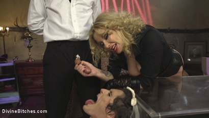 Photo number 11 from Honeymoon Cuckold At Hotel Divine shot for Divine Bitches on Kink.com. Featuring Maitresse Madeline Marlowe , Will Havoc and Tony Orlando in hardcore BDSM & Fetish porn.