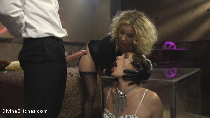 Photo number 12 from Honeymoon Cuckold At Hotel Divine shot for Divine Bitches on Kink.com. Featuring Maitresse Madeline Marlowe , Will Havoc and Tony Orlando in hardcore BDSM & Fetish porn.