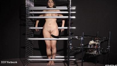 Photo number 1 from Futuristic Vision Of Restraint!: Valentina Nappi shot for DDF Network on Kink.com. Featuring Valentina Nappi in hardcore BDSM & Fetish porn.
