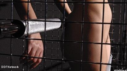 Photo number 4 from Futuristic Vision Of Restraint!: Valentina Nappi shot for DDF Network on Kink.com. Featuring Valentina Nappi in hardcore BDSM & Fetish porn.