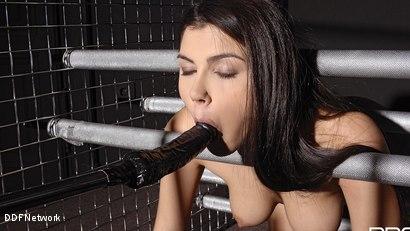 Photo number 6 from Futuristic Vision Of Restraint!: Valentina Nappi shot for DDF Network on Kink.com. Featuring Valentina Nappi in hardcore BDSM & Fetish porn.