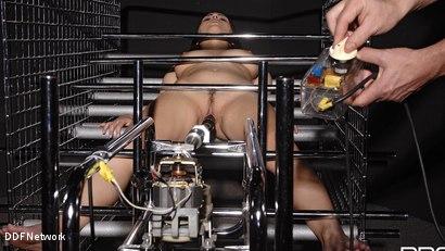 Photo number 10 from Futuristic Vision Of Restraint!: Valentina Nappi shot for DDF Network on Kink.com. Featuring Valentina Nappi in hardcore BDSM & Fetish porn.