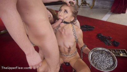 Photo number 3 from Eager Anal Cutie Returns to TUF to be Destroyed  shot for The Upper Floor on Kink.com. Featuring Seth Gamble, Emma Haize and Cherry Torn in hardcore BDSM & Fetish porn.
