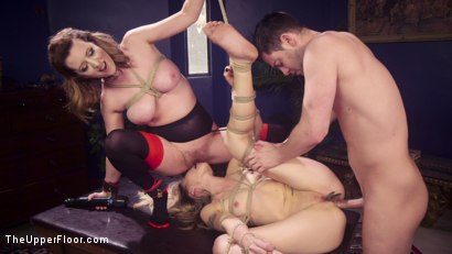 Photo number 6 from Eager Anal Cutie Returns to TUF to be Destroyed  shot for The Upper Floor on Kink.com. Featuring Seth Gamble, Emma Haize and Cherry Torn in hardcore BDSM & Fetish porn.