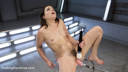 Photo number 1 from Sex Crazed Slut Gets Machine Fucked and Tied Up shot for Fucking Machines on Kink.com. Featuring Juliette March in hardcore BDSM & Fetish porn.