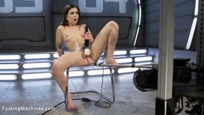 Photo number 4 from Sex Crazed Slut Gets Machine Fucked and Tied Up shot for Fucking Machines on Kink.com. Featuring Juliette March in hardcore BDSM & Fetish porn.