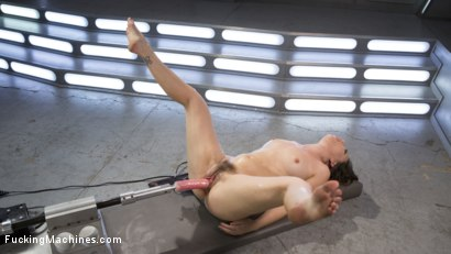 Photo number 8 from Sex Crazed Slut Gets Machine Fucked and Tied Up shot for Fucking Machines on Kink.com. Featuring Juliette March in hardcore BDSM & Fetish porn.