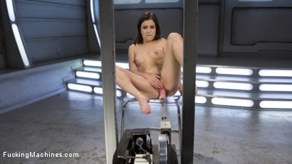 Photo number 9 from Sex Crazed Slut Gets Machine Fucked and Tied Up shot for Fucking Machines on Kink.com. Featuring Juliette March in hardcore BDSM & Fetish porn.