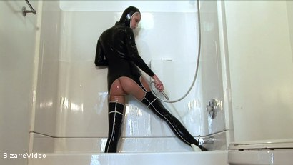 Photo number 12 from Latex Lovers: Hanna Hilton shot for Bizarre Video on Kink.com. Featuring  in hardcore BDSM & Fetish porn.