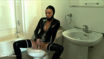 Photo number 6 from Latex Lovers: Hanna Hilton shot for Bizarre Video on Kink.com. Featuring  in hardcore BDSM & Fetish porn.
