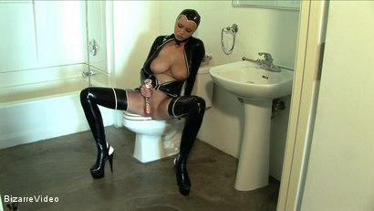 Photo number 7 from Latex Lovers: Hanna Hilton shot for Bizarre Video on Kink.com. Featuring  in hardcore BDSM & Fetish porn.