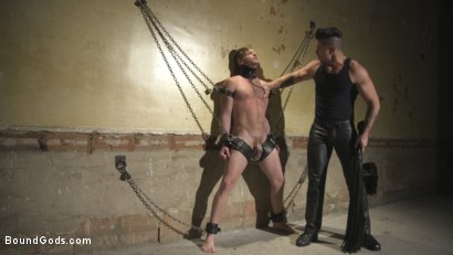 Photo number 1 from Returning House Slave Must Prove His Worth! shot for Bound Gods on Kink.com. Featuring Trenton Ducati and Brian Bonds in hardcore BDSM & Fetish porn.