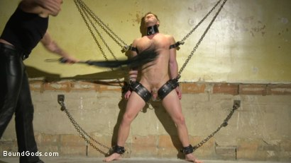 Photo number 3 from Returning House Slave Must Prove His Worth! shot for Bound Gods on Kink.com. Featuring Trenton Ducati and Brian Bonds in hardcore BDSM & Fetish porn.