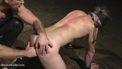Photo number 8 from Returning House Slave Must Prove His Worth! shot for Bound Gods on Kink.com. Featuring Trenton Ducati and Brian Bonds in hardcore BDSM & Fetish porn.