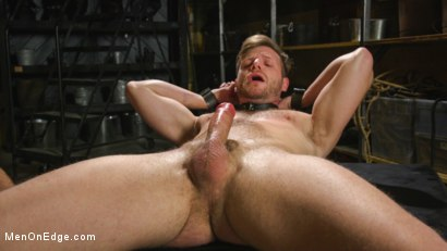 Photo number 5 from Muscled House Slave Begs to Cum In Bondage shot for Men On Edge on Kink.com. Featuring Brian Bonds in hardcore BDSM & Fetish porn.