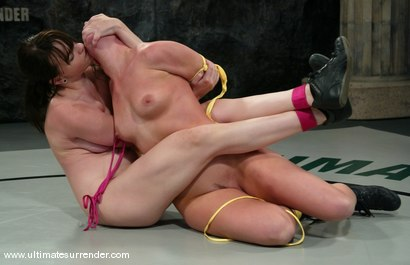 Photo number 2 from The Jester (2-6) Ranked 8th<br> The Assassin (0-2) Ranked 10th shot for Ultimate Surrender on Kink.com. Featuring Ariel X and Dana DeArmond in hardcore BDSM & Fetish porn.