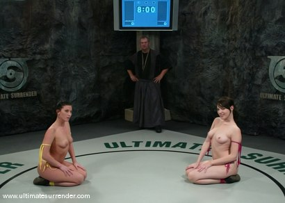 Photo number 1 from The Jester (2-6) Ranked 8th<br> The Assassin (0-2) Ranked 10th shot for Ultimate Surrender on Kink.com. Featuring Ariel X and Dana DeArmond in hardcore BDSM & Fetish porn.