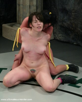 Photo number 12 from The Jester (2-6) Ranked 8th<br> The Assassin (0-2) Ranked 10th shot for Ultimate Surrender on Kink.com. Featuring Ariel X and Dana DeArmond in hardcore BDSM & Fetish porn.