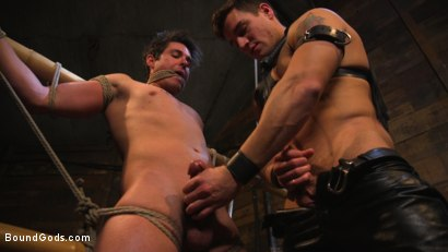 Photo number 7 from Welcome to the House, Master Boss shot for Bound Gods on Kink.com. Featuring Jordan Boss and Jett Jax in hardcore BDSM & Fetish porn.