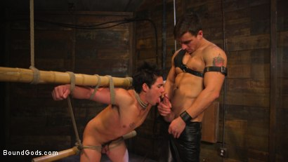 Photo number 8 from Welcome to the House, Master Boss shot for Bound Gods on Kink.com. Featuring Jordan Boss and Jett Jax in hardcore BDSM & Fetish porn.