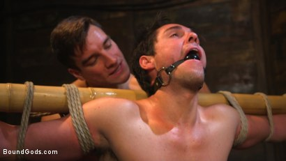 Photo number 11 from Welcome to the House, Master Boss shot for Bound Gods on Kink.com. Featuring Jordan Boss and Jett Jax in hardcore BDSM & Fetish porn.