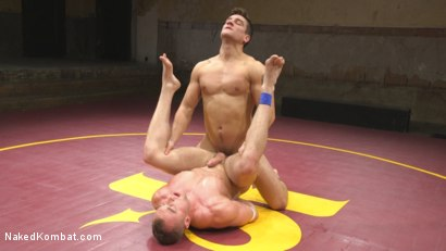 Photo number 10 from Pound for Pound - Two Muscled Hunks Battle for Sexual Domination shot for Naked Kombat on Kink.com. Featuring Jordan Boss and Jacob Durham in hardcore BDSM & Fetish porn.
