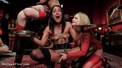 Photo number 13 from Evil & Hot Halloween Orgy shot for The Upper Floor on Kink.com. Featuring Aiden Starr, Amara Romani, John Strong, Sadie Santana, Ramon Nomar, Kasey Warner and Ember Stone in hardcore BDSM & Fetish porn.