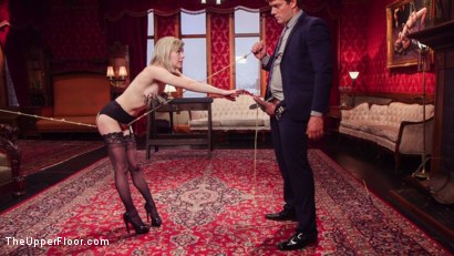 Photo number 4 from Submissive Secretary Anal Trained By Jealous Wife  shot for The Upper Floor on Kink.com. Featuring Ramon Nomar, Anna Tyler and Veruca James in hardcore BDSM & Fetish porn.