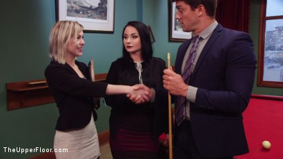 Photo number 8 from Submissive Secretary Anal Trained By Jealous Wife  shot for The Upper Floor on Kink.com. Featuring Ramon Nomar, Anna Tyler and Veruca James in hardcore BDSM & Fetish porn.
