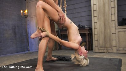 Photo number 14 from Training of a Bondage Slave: Eliza Jane Day Two shot for The Training Of O on Kink.com. Featuring Xander Corvus and Eliza Jane in hardcore BDSM & Fetish porn.