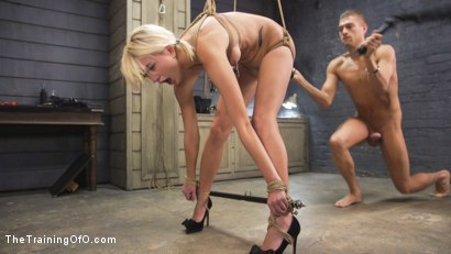 Photo number 17 from Training of a Bondage Slave: Eliza Jane Day Two shot for The Training Of O on Kink.com. Featuring Xander Corvus and Eliza Jane in hardcore BDSM & Fetish porn.