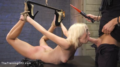 Photo number 5 from Training of a Bondage Slave: Eliza Jane Day Two shot for The Training Of O on Kink.com. Featuring Xander Corvus and Eliza Jane in hardcore BDSM & Fetish porn.
