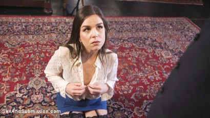 Photo number 7 from Help Wanted shot for Sex And Submission on Kink.com. Featuring Derrick Pierce and Juliette March in hardcore BDSM & Fetish porn.