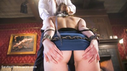 Photo number 12 from Help Wanted shot for Sex And Submission on Kink.com. Featuring Derrick Pierce and Juliette March in hardcore BDSM & Fetish porn.