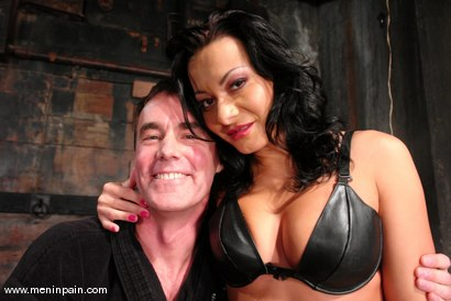 Photo number 15 from Sandra Romain and Wild Bill shot for Men In Pain on Kink.com. Featuring Sandra Romain and Wild Bill in hardcore BDSM & Fetish porn.