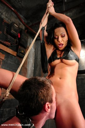 Photo number 6 from Sandra Romain and Wild Bill shot for Men In Pain on Kink.com. Featuring Sandra Romain and Wild Bill in hardcore BDSM & Fetish porn.