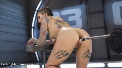 Photo number 2 from Alt Sensation Leigh Raven Gets Power Fucked by Our Machines shot for Fucking Machines on Kink.com. Featuring Leigh Raven in hardcore BDSM & Fetish porn.