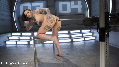 Photo number 13 from Alt Sensation Leigh Raven Gets Power Fucked by Our Machines shot for Fucking Machines on Kink.com. Featuring Leigh Raven in hardcore BDSM & Fetish porn.