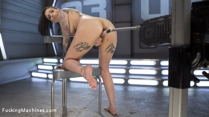 Photo number 14 from Alt Sensation Leigh Raven Gets Power Fucked by Our Machines shot for Fucking Machines on Kink.com. Featuring Leigh Raven in hardcore BDSM & Fetish porn.