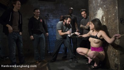 Photo number 1 from Fucking The Film Crew shot for Hardcore Gangbang on Kink.com. Featuring Juliette March, Small Hands, Tommy Pistol, Jon Jon, Tarzan and Owen Gray in hardcore BDSM & Fetish porn.