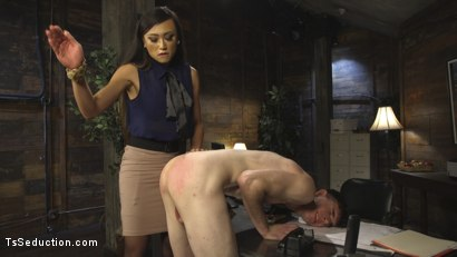 Photo number 1 from Slutty TA gets T&A from DTF Ts School Administrator VENUS LUX! NSFW!!! shot for TS Seduction on Kink.com. Featuring Venus Lux and Artemis Faux in hardcore BDSM & Fetish porn.